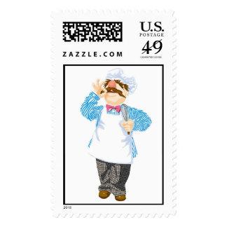 Muppets' Swedish Chef Disney Postage Stamps