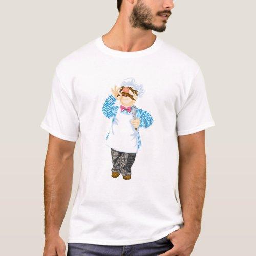 Muppets Swedish Chef Disney T_Shirt