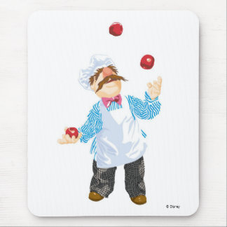 Muppets' Swedish Chef Juggling Mouse Pad