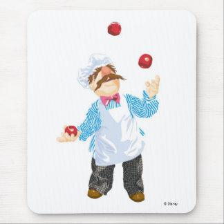 Muppets' Swedish Chef Juggling Mousepads