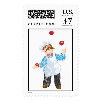 Muppets' Swedish Chef Juggling Postage