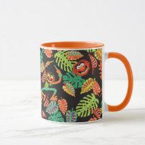 Muppets | Tropical Kermit & Animal Pattern 2 Mug