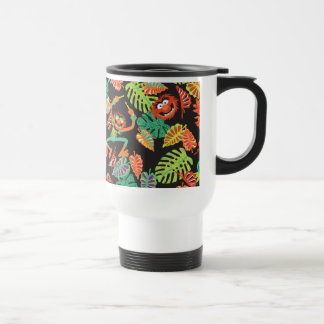 Muppets | Tropical Kermit & Animal Pattern 2 Travel Mug