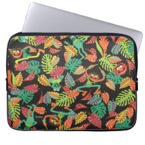 Muppets | Tropical Kermit & Animal Pattern Computer Sleeve