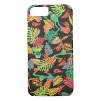 Muppets | Tropical Kermit & Animal Pattern iPhone 8/7 Case