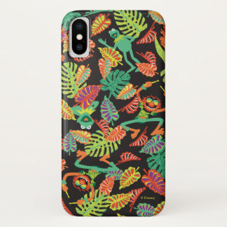 Muppets | Tropical Kermit & Animal Pattern iPhone X Case