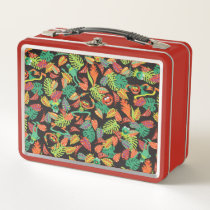 Muppets | Tropical Kermit & Animal Pattern Metal Lunch Box