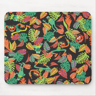 Muppets | Tropical Kermit & Animal Pattern Mouse Pad