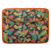 Muppets | Tropical Kermit & Animal Pattern Sleeve For MacBook Pro