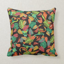 Muppets   Tropical Kermit & Animal Pattern Throw Pillow