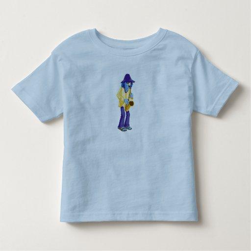 Muppets Zoot que toca un saxofón Disney Camiseta