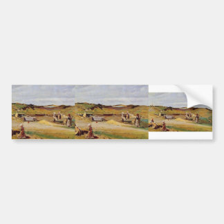 MUR de Camilo Corot- Cotes du Nord Pegatina De Parachoque