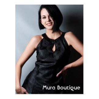 Mura Chic Fahion Boutique Postcard