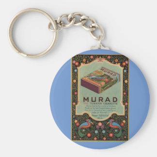 Murad Cigarettes ad Keychain