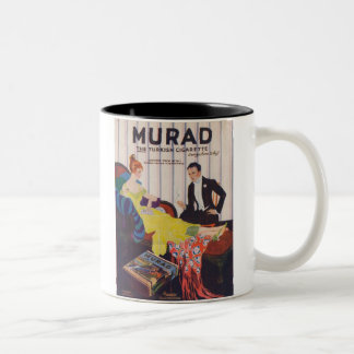 Murad Turkish Cigarettes 2 Two-Tone Coffee Mug