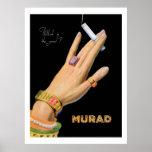 MURAD (Vintage 1920s ads) Print