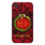 Murakami Monogram Dragon Cases For iPhone 4