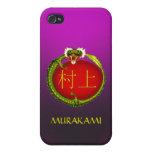 Murakami Monogram Dragon Cover For iPhone 4