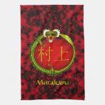 Murakami Monogram Dragon Kitchen Towels
