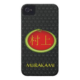 Murakami Monogram Snake iPhone 4 Cover