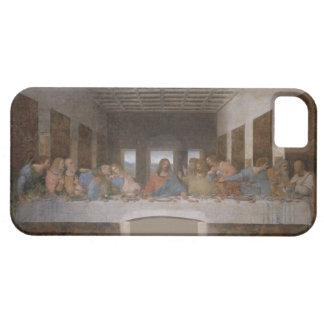 Mural 1490s de Leonardo da Vinci de la última cena iPhone 5 Fundas