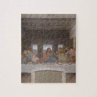 Mural 1490s de Leonardo da Vinci de la última cena Puzzles