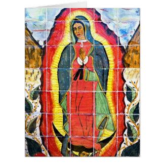 Mural 1797 de San Miguel Arcangel de la misión Felicitacion