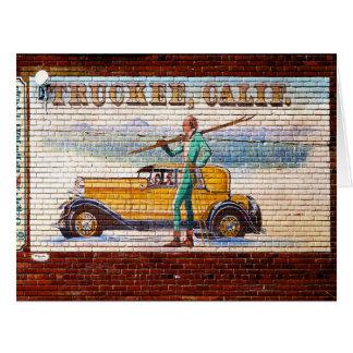 Mural 2012 de Truckee California Felicitación