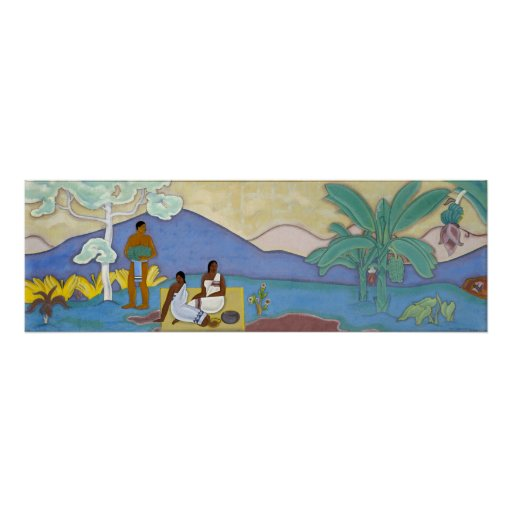 Mural arman manookian poster zazzle for Poster mural 4 murs