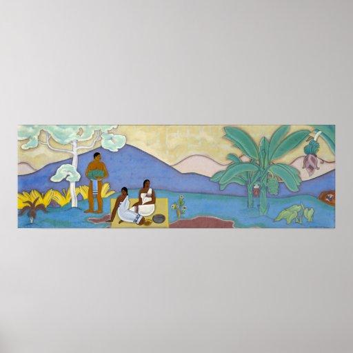 Mural arman manookian poster zazzle for Poster mural 4 murs