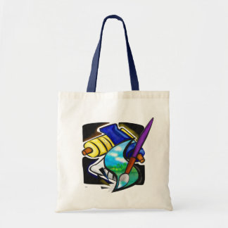 Mural Artist Graphic Design SUPPLIES PAINTS Tote Bag