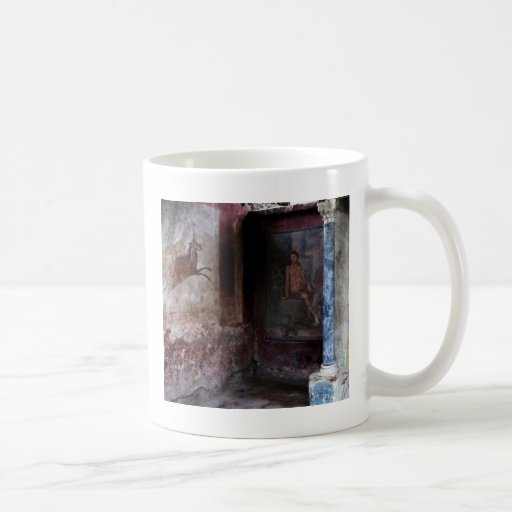 Mural at pompeii coffee mug zazzle for Mural coffee