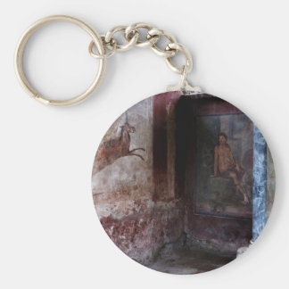 Mural at Pompeii Key Chains