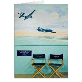Mural & Chairs Card
