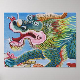Mural chino impresiones