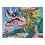 Mural chino tarjetas postales