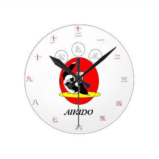 Mural clock