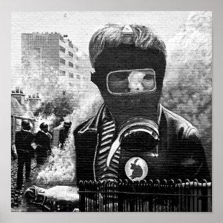 Mural de IRA, Derry Posters