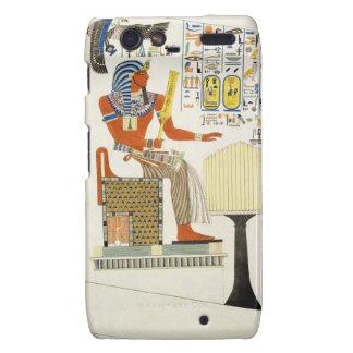 Mural de las tumbas de los reyes de Thebes, disco Droid RAZR Fundas