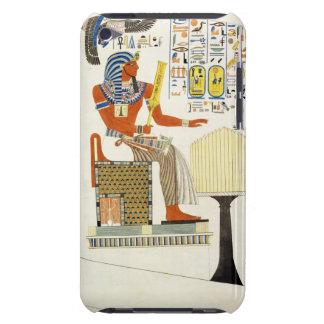 Mural de las tumbas de los reyes de Thebes, disco Barely There iPod Carcasa