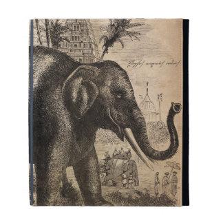 Mural del elefante del vintage