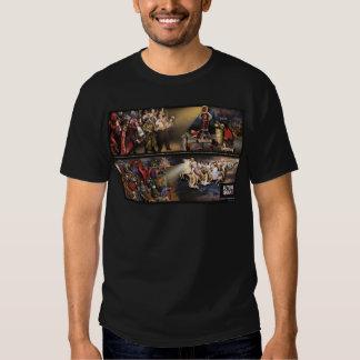 Mural del temblor/camisa futuros de la oscuridad polera