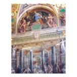 Mural en el museo de Vatican Membrete Personalizado