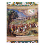 Mural en el museo de Vatican Membrete