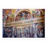 Mural en el museo de Vatican Tarjeta Postal