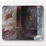 Mural en Pompeya Alfombrillas De Ratones