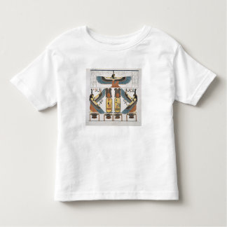 Mural from the Tombs of the Kings at Thebes, disco Tee Shirts