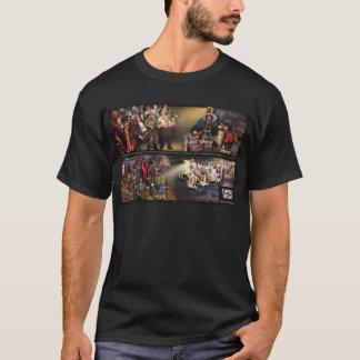 Mural futuro del temblor/camisa de lujo de la playera