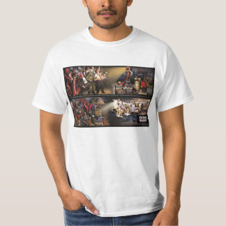 Mural futuro del temblor/camisa de lujo de Lite Playera