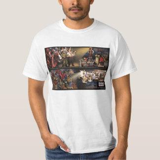 Mural futuro del temblor/camisa vieja de Lite del Playera
